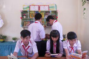 'Góc thư viện lớp học' đưa sách đến gần các em hơn