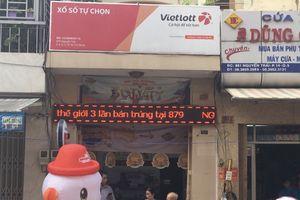 Điểm bán xổ số Vietlott liên tục có khách trúng giải 'khủng'
