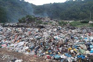Nghệ An: Xây dựng bãi rác hơn 7 năm chưa xong