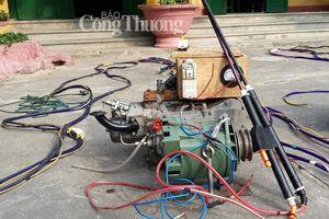 Xử phạt 7 tàu cá dùng xung điện đánh bắt hải sản ở đảo Cù Lao Chàm