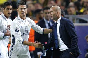 Zidane mê tín giúp Real chiến thắng