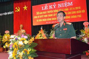 Học viện Quân y công bố quyết định thành lập Viện Mô Phôi lâm sàng Quân đội