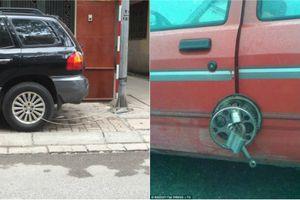Hình thức chống trộm xe siêu hài hước khiến dân mạng phì cười