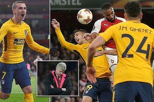 Toàn cảnh Arsenal 1-1 Atletico Madrid: Công cùn, thủ phá