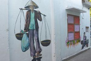 Độc đáo làng bích họa giữa lòng thành phố Đà Nẵng