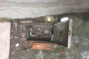 Hi hữu: Hàng loạt đồng hồ nước bỗng nhiên biến mất tại Hải Phòng