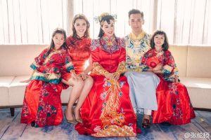 Chung Lệ Đề đổi họ cho ba cô con gái theo họ chồng mới