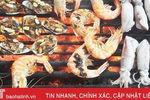 Hấp dẫn hải sản Xuân Yên