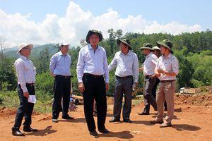 Các dự án định canh, định cư cho đồng bào dân tộc thiểu số huyện Ba Tơ, Quảng Ngãi: Hoàn thành trước mùa mưa bão 2018
