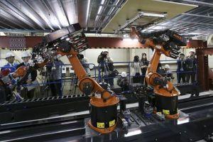 Robot 'xâm nhập' vào các công trường xây dựng