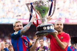Vô địch La Liga, Barca vượt mặt Real về số danh hiệu
