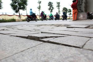 Sai phạm nghiêm trọng trong các dự án lát đá vỉa hè Hà Nội