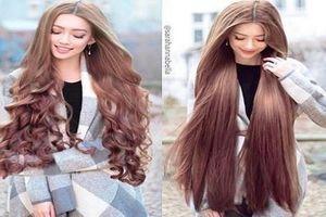 'Hot girl tóc mây' gốc Việt khiến các cô gái ganh tỵ vì quá xinh
