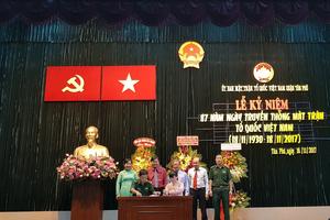Quận Tân Phú kỷ niệm 87 năm ngày truyền thống MTTQ Việt Nam