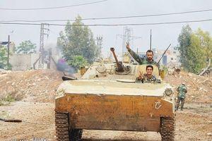 Quân đội đánh bật IS, chiếm 3 khu phố lớn ở nam Damascus