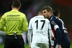 Thomas Mueller chọc tức Real Madrid trước màn tái đấu