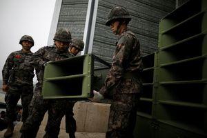 Hàn, Triều bắt đầu dỡ bỏ dàn loa tuyên truyền chĩa vào nhau