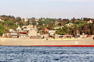 Tàu Nga mang thiết bị chặn tên lửa bay thấp đến Syria?