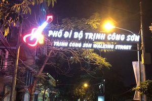 Phố đi bộ Trịnh Công Sơn: Cảnh quan và ẩm thực sẽ tạo ra sự khác biệt