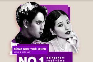 'Đừng như thói quen' của Jaykii và Sara Lưu gây sốt sau 12 giờ ra mắt