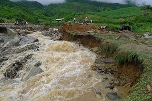 Khu vực vùng núi phía Bắc cần đề phòng lũ quét, sạt lở đất đá