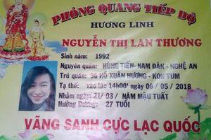 Gia đình cô gái treo cổ ở núi Lớn, Vũng Tàu thông báo tìm chỗ ở của nạn nhân