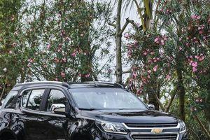 Giá ô tô Chevrolet tháng 5/2018: Trailblazer chào sân, giảm khủng 80 triệu đồng