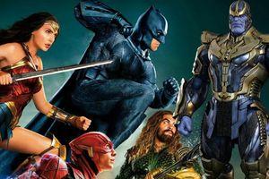 Câu hỏi vui: 'Justice League' của DC và X-Men của Fox có thể chống lại Thanos trong 'Infinity War' không?
