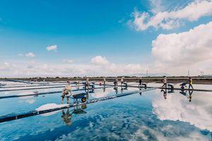 Mãn nhãn trước những hình ảnh đẹp về cánh đồng muối có 1-0-2 nơi phố biển Vũng Tàu