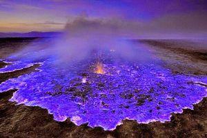 Bí ẩn 'ngọn lửa xanh' bất tử trên miệng núi lửa Indonesia