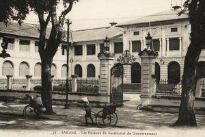 Dinh Thượng Thơ Sài Gòn và buổi họp báo định kỳ của chính quyền thành phố