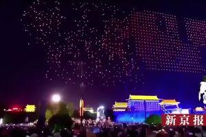 Buổi biểu diễn drone lớn nhất thế giới ở Trung Quốc kết thúc với drone rơi từ trên trời
