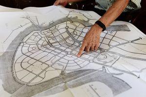 13 bản đồ quy hoạch đô thị mới Thủ Thiêm từ năm 1995