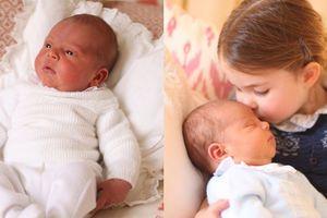 Hình ảnh 'siêu đáng yêu' của Công chúa Charlotte và Hoàng tử Louis
