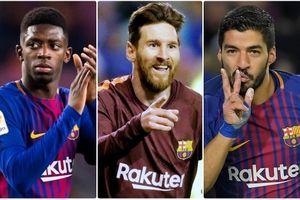 Danh sách 18 cầu thủ của Barca trong trận 'Siêu kinh điển' với Real
