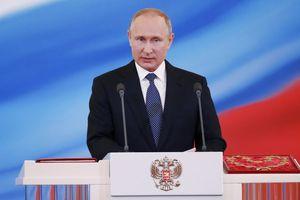Tổng thống Putin tuyên thệ nhậm chức nhiệm kỳ 4, chỉ định ông Medvedev làm thủ tướng