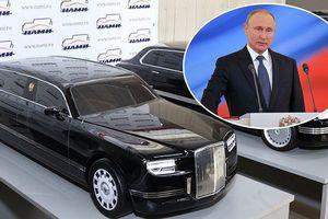 Ông Putin đến lễ nhậm chức bằng xe limousine mới