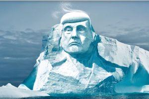Các nhà bảo vệ môi trường Phần Lan muốn khắc hình Tổng thống Trump trên băng Bắc cực