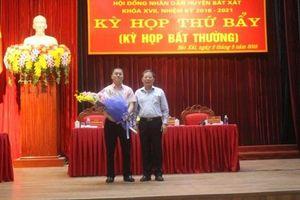 Việc bổ nhiệm Phó Chủ tịch huyện Bát Xát - Lào Cai là đúng quy trình