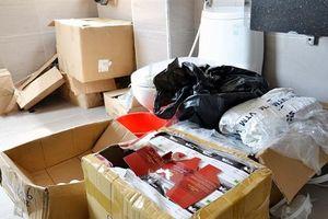 Hà Nội: Phá tụ điểm sản xuất mỹ phẩm 'dởm'