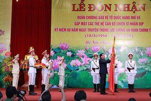 Lực lượng An ninh chính trị nội bộ (PA83) CATP Hà Nội: Đón nhận Huân chương Bảo vệ Tổ quốc hạng Nhì