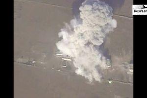 Không quân Syria giáng đòn hủy diệt căn cứ thánh chiến tại Hama