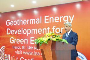 Phát triển năng lượng địa nhiệt vì một nền kinh tế xanh