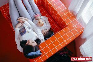 Bộ ảnh 'mẹ và con gái' cực yêu gây sốt cộng đồng mạng