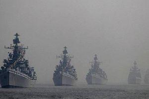 Tàu chiến 9 nước kéo đến vùng biển Ấn Độ Dương