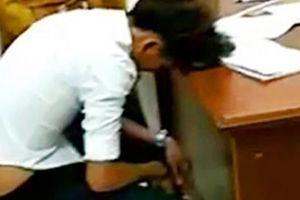 Vụ dân tố bị đánh: Công an nói tự gục mặt trên bàn, không đánh?
