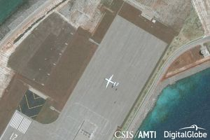 CSIS: Trung Quốc đưa máy bay quân sự đến đá Subi