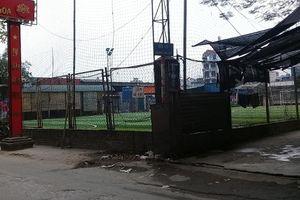 Hàng quán, sân bóng, nhà ở 'mọc như nấm sau mưa' trên đất nông nghiệp xã Tam Hiệp