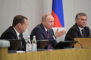 Tổng thống Nga Putin 'trách cứ' ông G.Diuganov