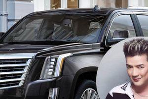 Đàm Vĩnh Hưng tậu 'khủng long Mỹ' Cadillac Escalade, gắn biển hiệu độc 'MR DVH'